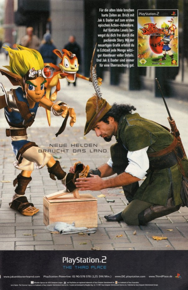 Jak and Daxter Sony PS2 Print Werbung