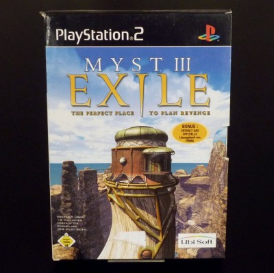 01 Myst 3 PS2 PAL Limited Edition