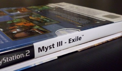02 Myst 3 PS2 PAL Limited Edition