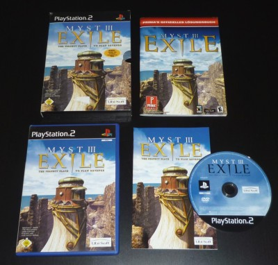 03 Myst 3 PS2 PAL Limited Edition