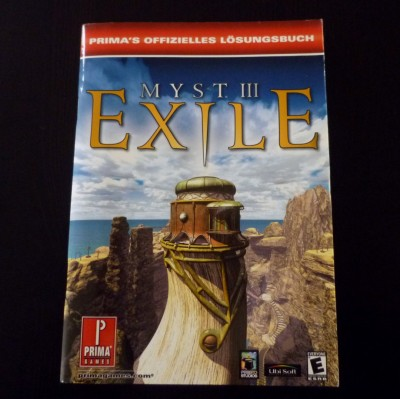 05 Myst 3 PS2 PAL Limited Edition