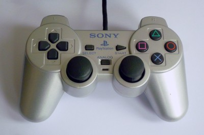 PS2 Sony Controller Silver